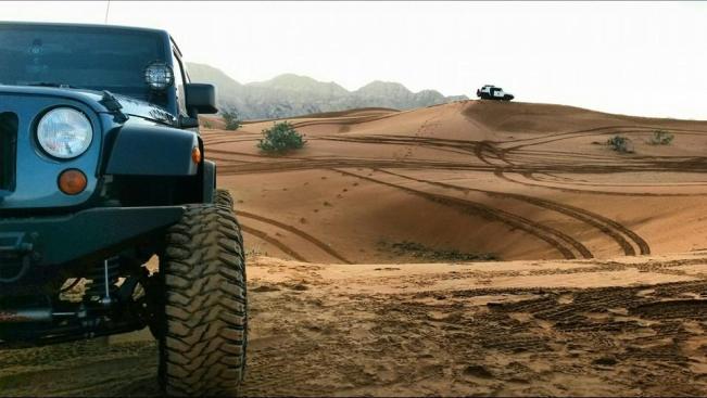 Desert Sand Terrain