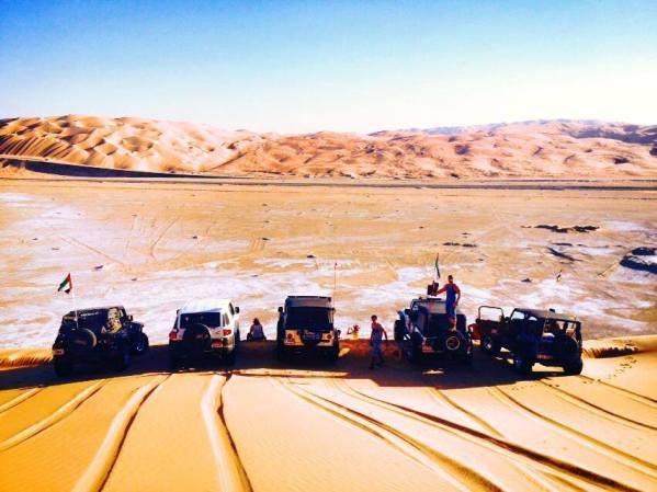 Liwa Area, at the UAE/Saudi border