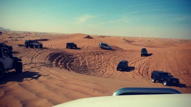 Desert Offroad Convoy