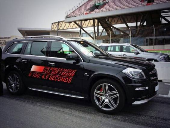 The Worlds Fastest Full Size 7- Seater SUV!
