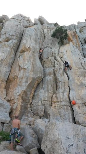 Rock Climbing in Musandam