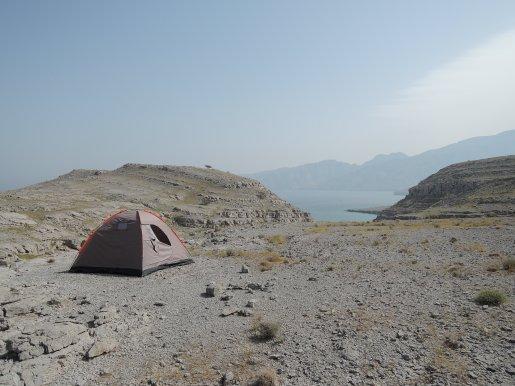 Camping in Musandam