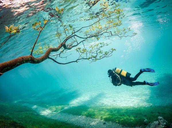 Green Lake Tragoss Austria