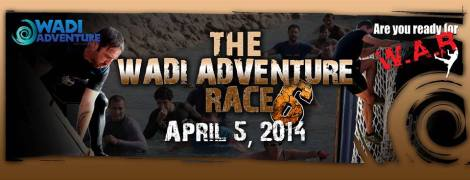 Youtube: Check out my action video participating in Wadi Adventure Race click on the photo!