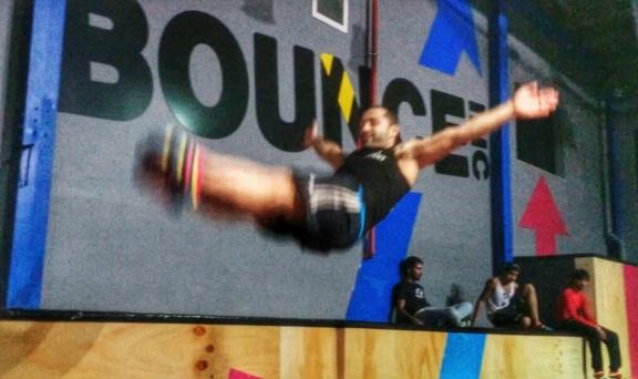 Bounce ME Dubai Cris Manero