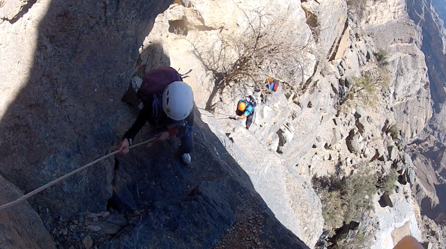 Jabal Shams Via Ferrata